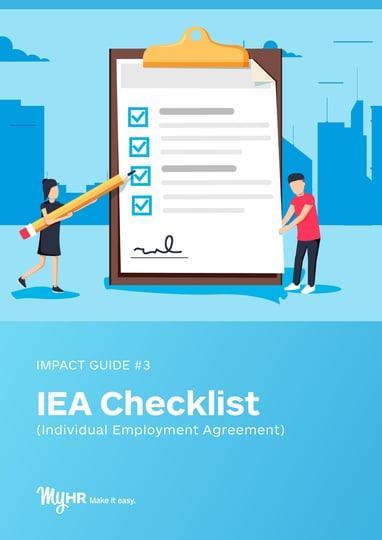 IEA Checklist
