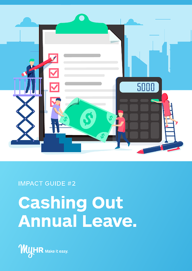 MyHR Cashing Out Annual Leave-Cover