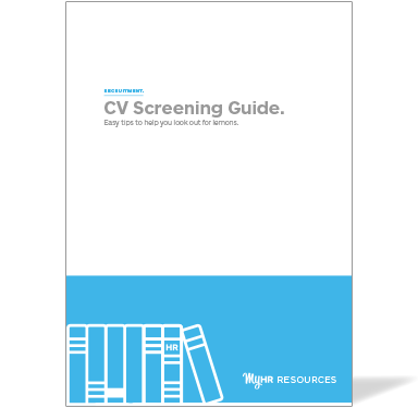 A guide to CV screening cover