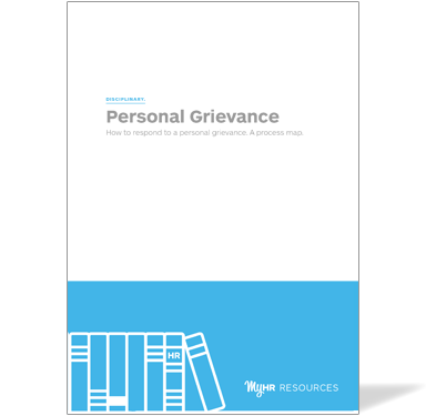 Personal Grievance Guide Cover