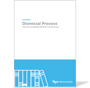 How to run a dismissal process guide cover