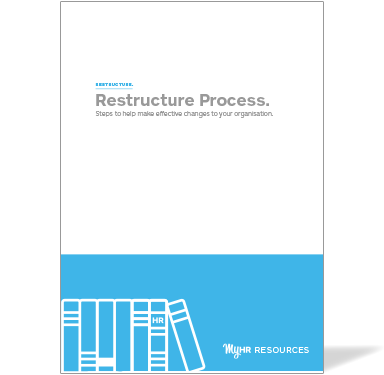 Restructure Process Guide Cover